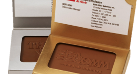 Chocolate Business Card